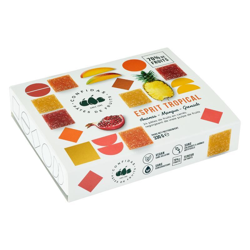 Exotisk Frukt 330g