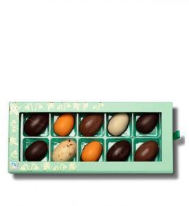Påskask 10 chokladägg