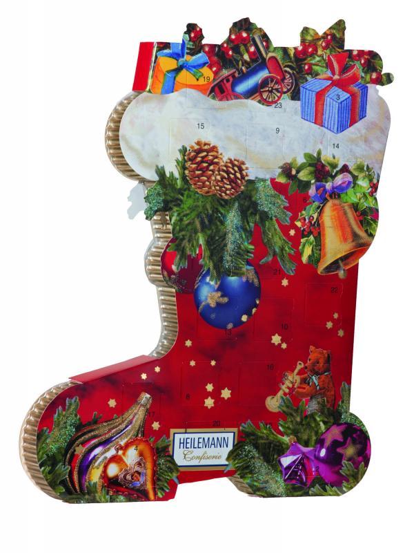Kalender Julstrumpa