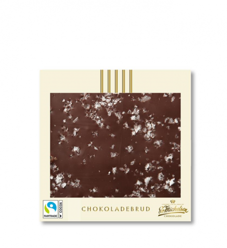 Chokladkaka mörk & havssalt