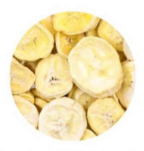 Frystorkad Banan