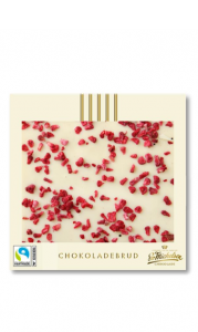 Chokladkaka vit & hallon