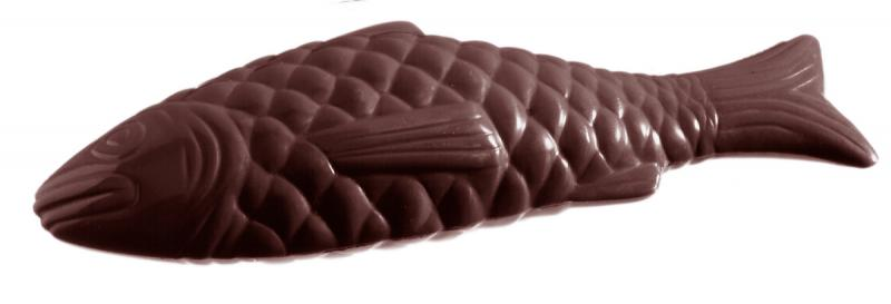 Chokladform Stor fisk