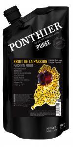 Fruktpuré av passionsfrukt