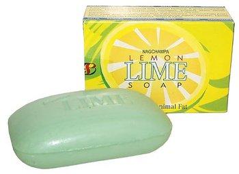 Nag Champa Citron och Lime Tvål - 75gr.