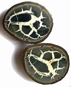 Septarian Äggform Två delar