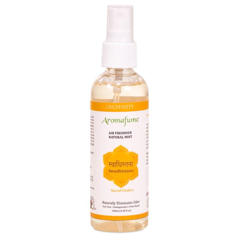 Aromafume Chakra Spray - Solarplexus - Ändemål- Swadhishtana