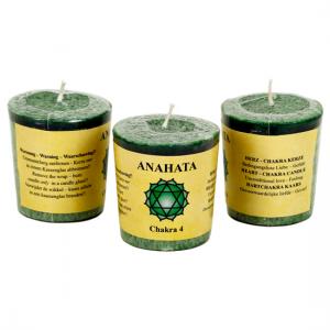 Chakra doftljus - Anahata - Chakra 4 (Grön - Kärlek)