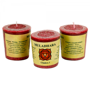 Chakra doftljus - Muladhara - Chakra 1 (Röd) -Kraft