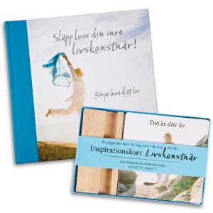 LIVSKONSTNÄR-PAKETET - BOK & KORT MED RABATT Paketet för dig som verkligen vill ha förändring i ditt liv och uppnå dina drömmar!
