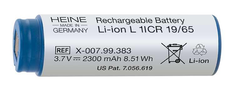 Uppladdningsbart batteri HEINE BETA® L