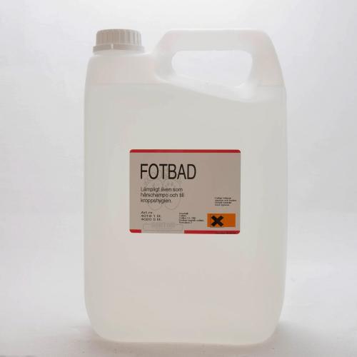 Fotbad oparfymerad, 5l