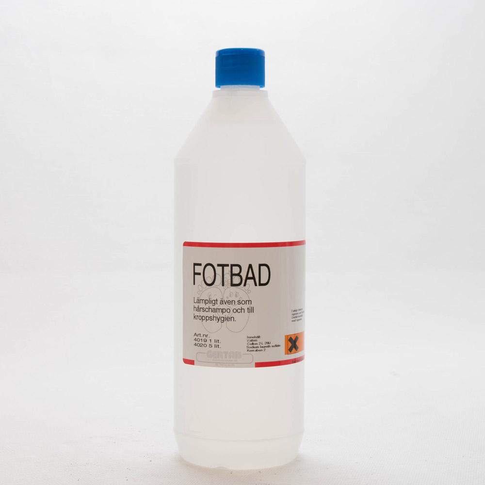 Fotbad oparfymerad, 1 liter
