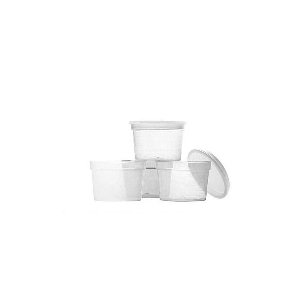 Behållare - transparent, 30 ml, 50st