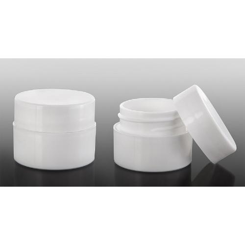 Behållare med skruvlock, 5 ml vit