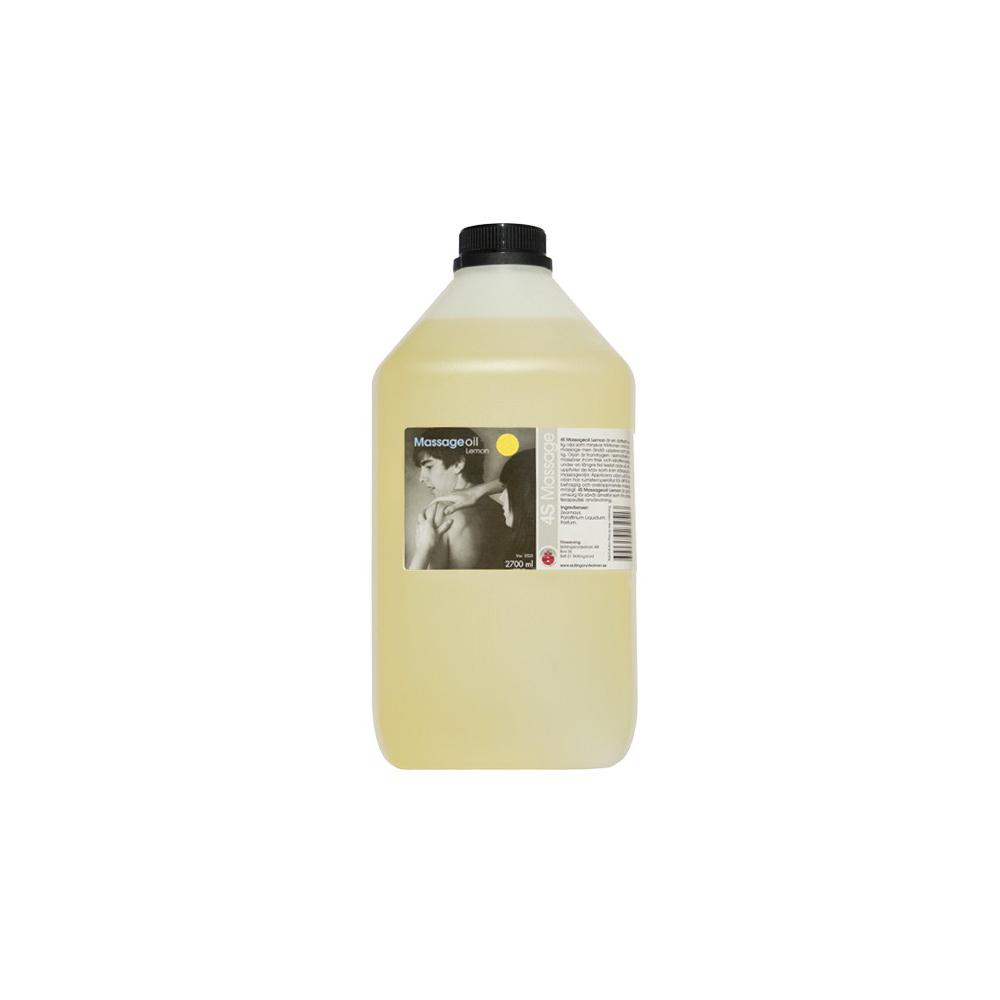4S Massageolja Citron, 2700ml