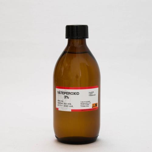 Väteperoxid, 3%, 300ml