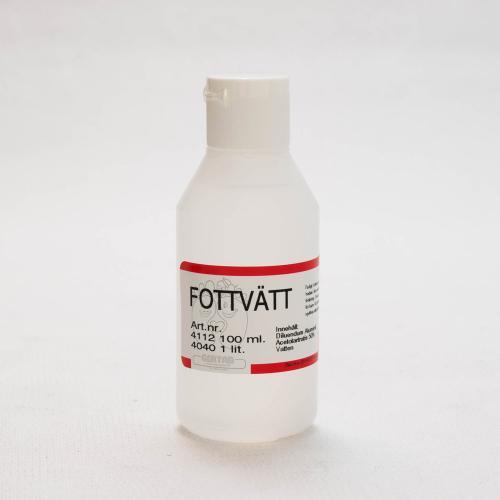 Fottvätt, (Alsollösning),   1%  100 ml