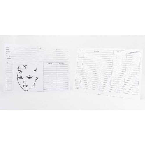 Journalkort - ansikte, A5-format, 100st