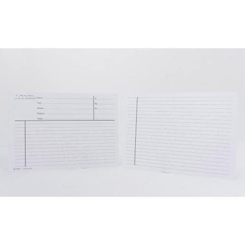 Journalkort - standard, A5-format, 100st