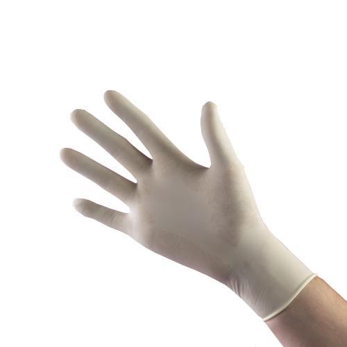 Handskar Nitril, vit, XS, puderfri 100st/pkt
