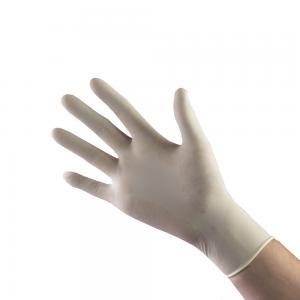 Handskar Nitril, vit, S, puderfri
