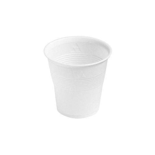 Plastmuggar i vitt 100 st. Dessa klassiska engångsmuggar rymmer 21 cl.