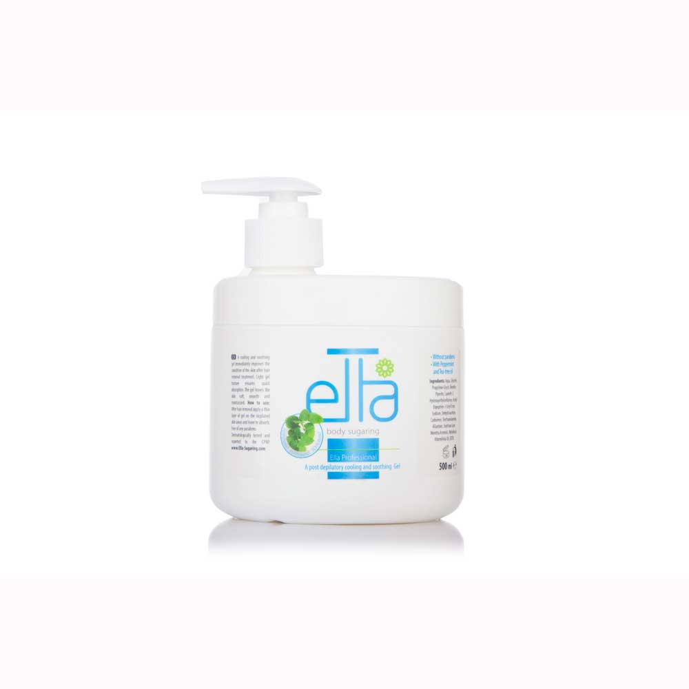 Ella Sugaring, Mint Gel efter Sugaring, 500ml