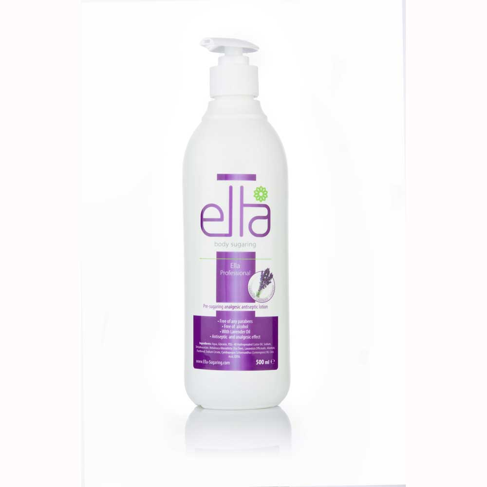 Ella Sugaring, Lavendel Lotion innan Sugaring 5...