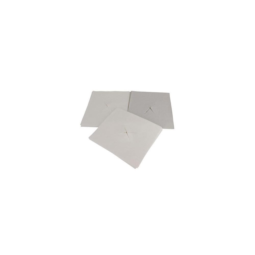 Ansiktsduk med hålkryss, 35x40cm, 500st