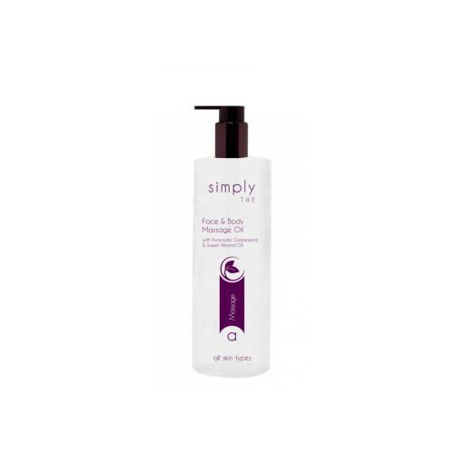 Massageolja - Face & Body, 490 ml