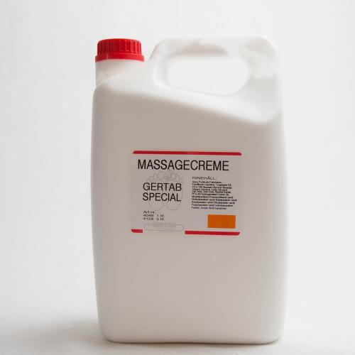 Massagecreme, Special 5 liter