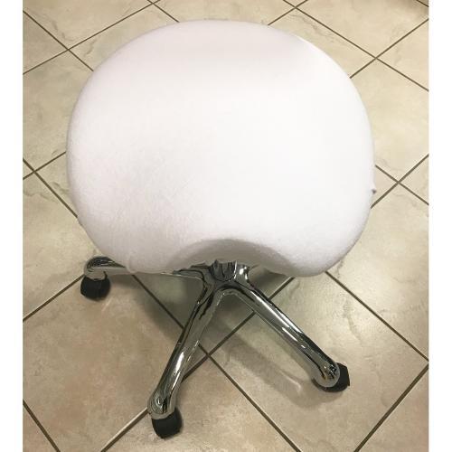 Överdrag till arbetsstol (sits rund och sadelstol)