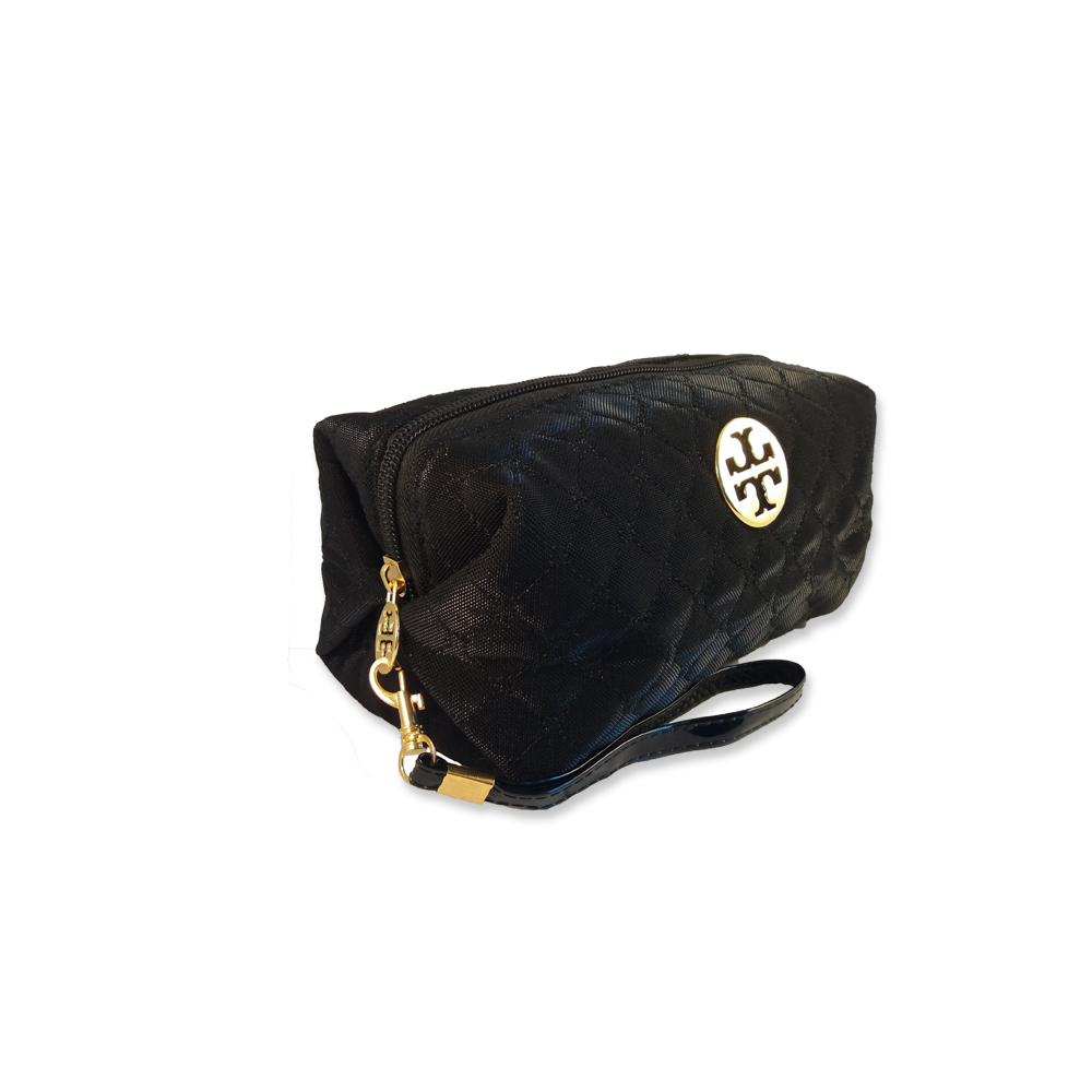 Beauty-bag 20x10x10 cm svart