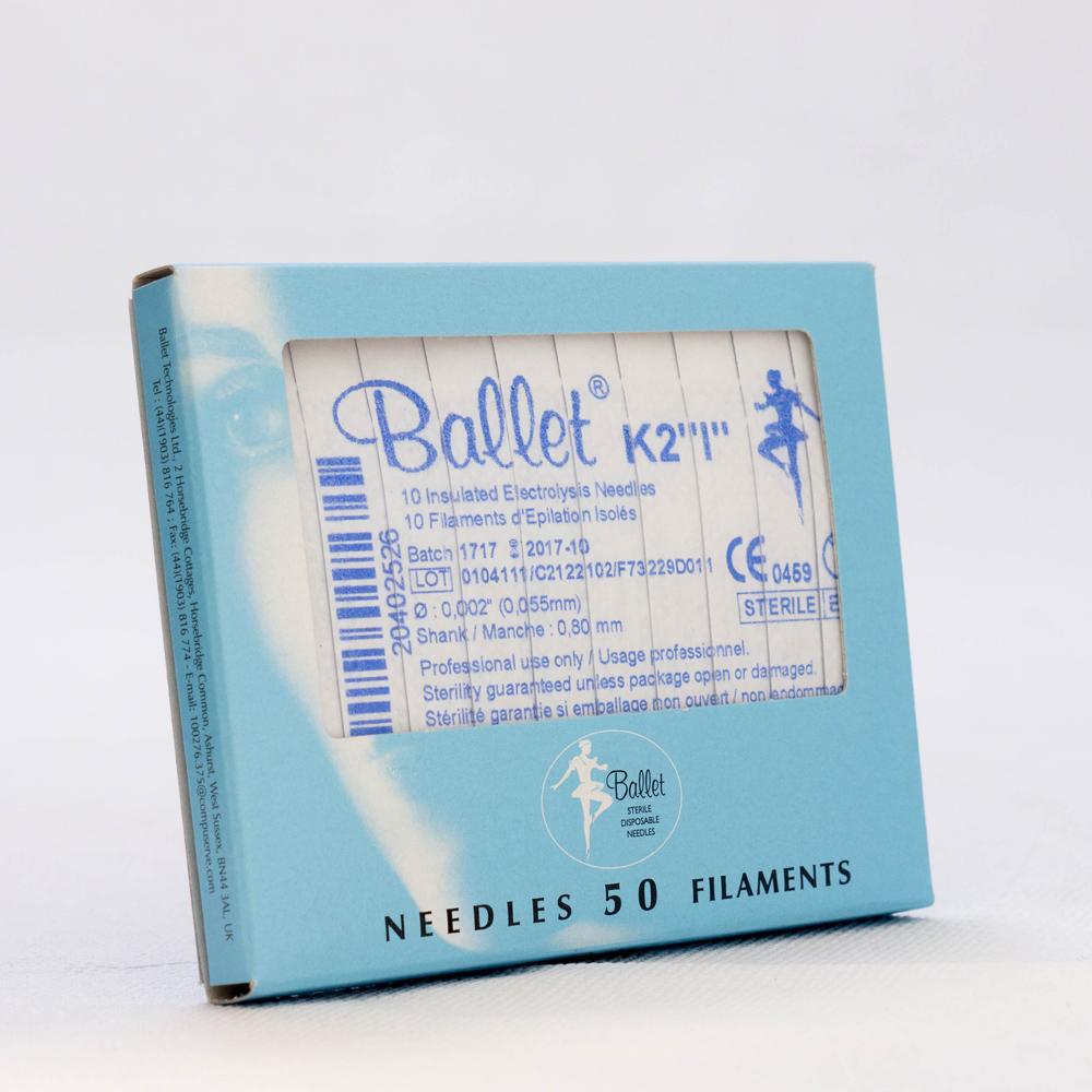 Ballet nålar, isolerade K4