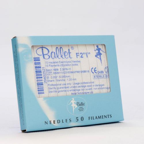 Ballet nålar, isolerade F2
