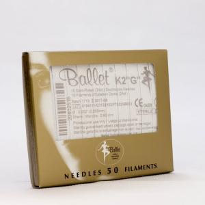 Ballet nålar, guldpläterade K2