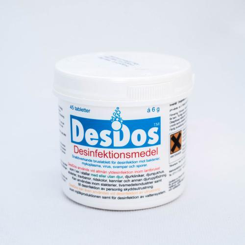 DesiDos, 45 tabletter
