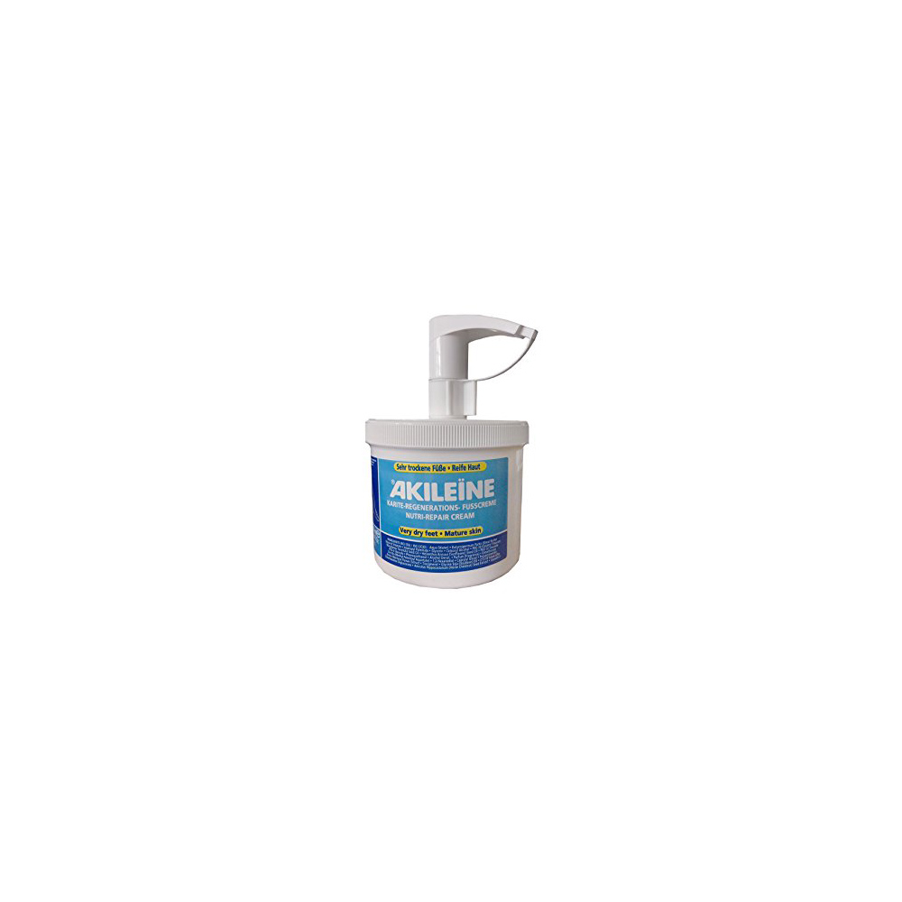 AKILEINE BLÅ -  500 ml  creme med pump