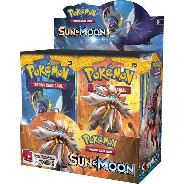 Pokémon, Sun and Moon 1, Booster
