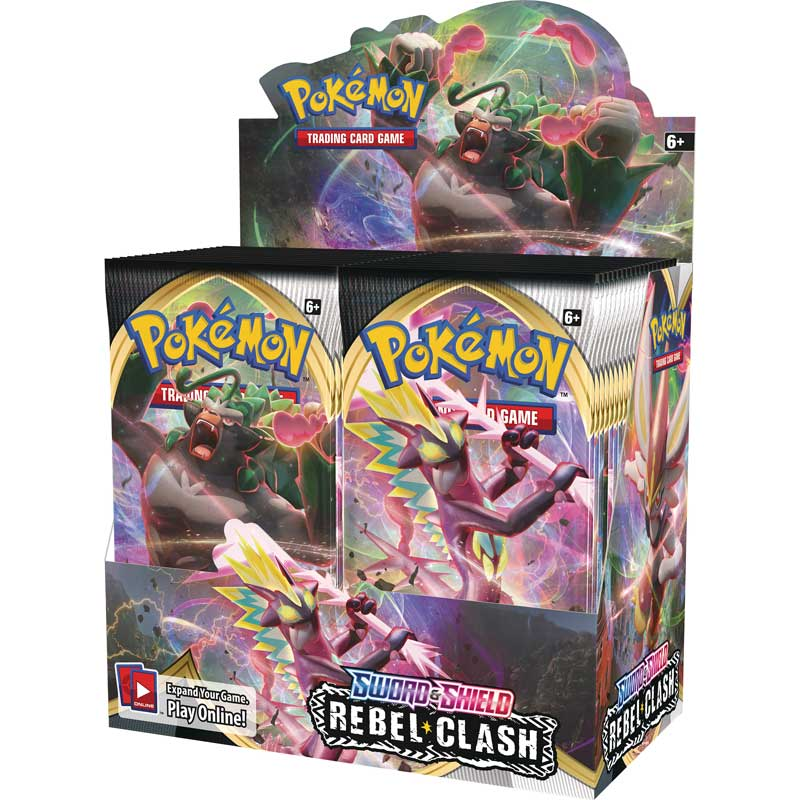 Pokémon, Sword Shield 2, Booster
