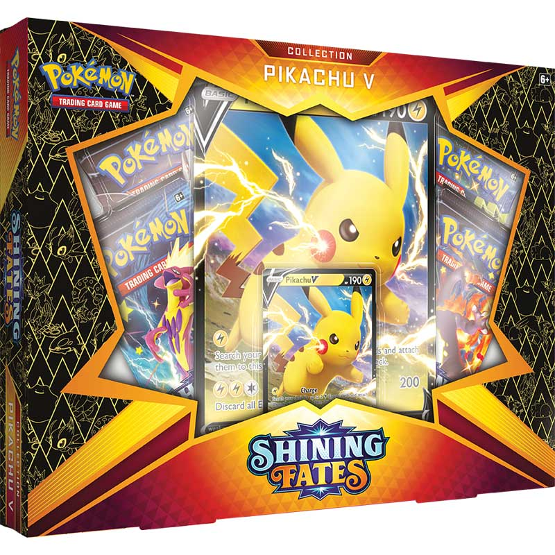 Pokémon Pikachu Shining Fates V Box