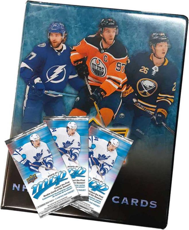 NHL MVP Retail 20-21 Starter med 3 paket