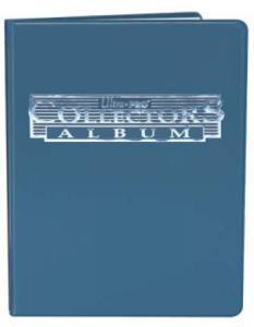 Portfolio A4 blå