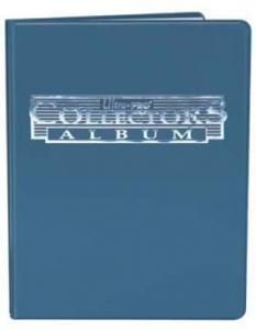 Portfolio A5 blå