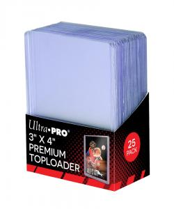 "35pt Toploader 3""x4"" Premium 25st"