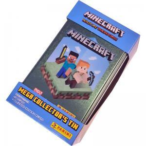 Minecraft Mega Tin - plåtask med samlarkort (stor)