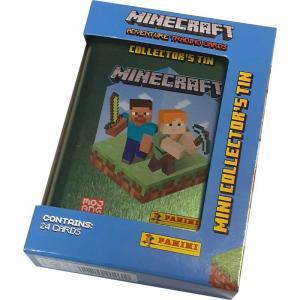 Minecraft Mini Tin - plåtask med samlarkort (liten)