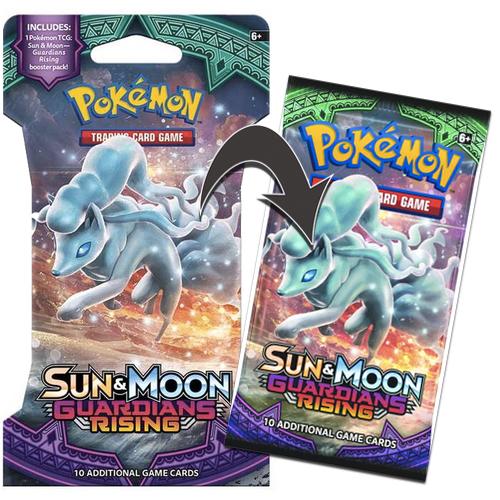 Pokémon, SM 2 Guardians Rising, 1 Booster