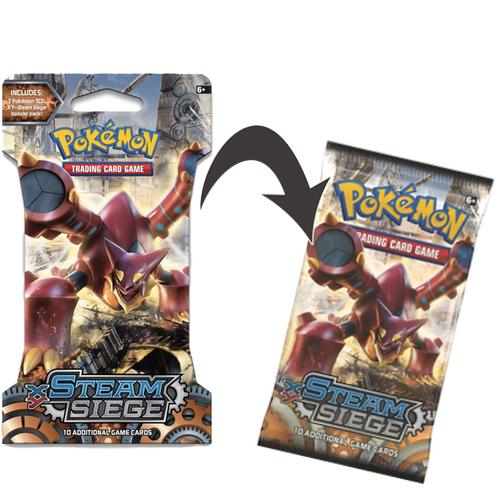 Pokemon XY 11 Steam Siege Booster